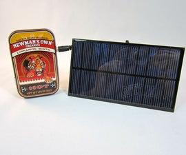 Heavy Duty Solar USB Charger (In a tin!)