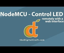 Remote Control With NodeMCU and Web UI