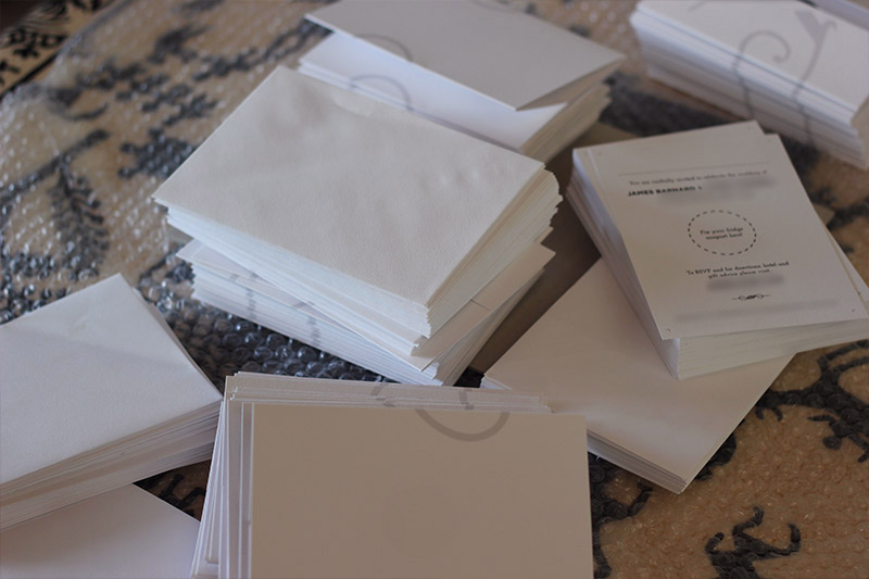 Picture of Delivered With Envelopes, Slightly Bent in the Post.