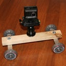 DIY Camera Dolly for GoPro, Actionpro X7 or any other action or video camera.