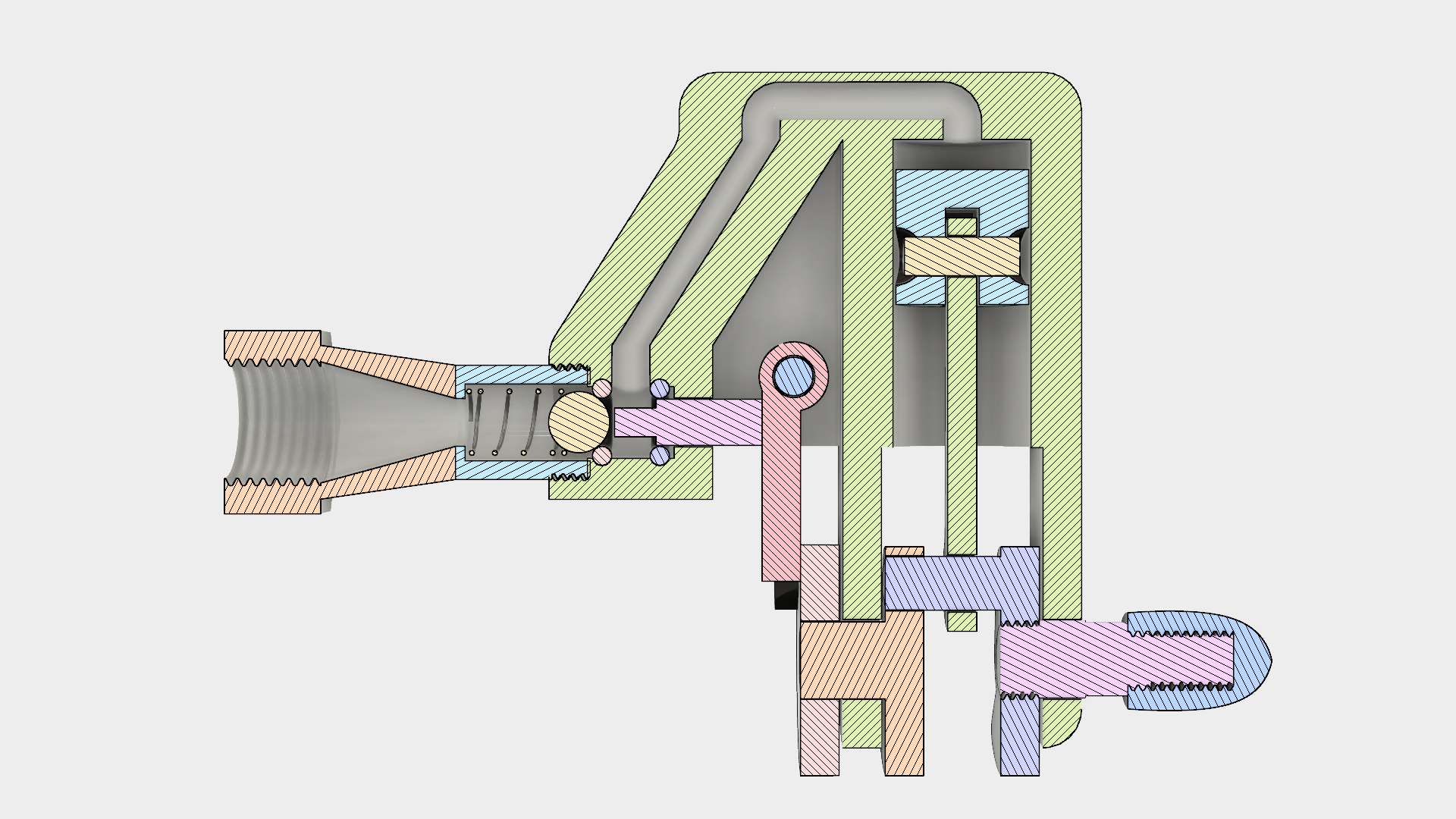 Picture of Single Cylinder Air Engine, Experimental