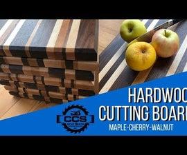 How to Make Hardwood Edge Grain Cutting Boards