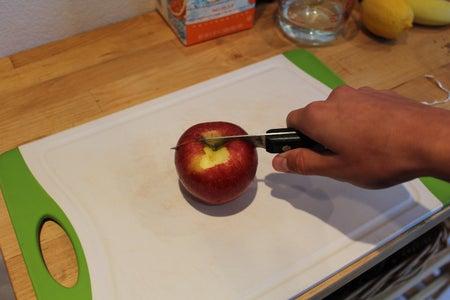 Preparing the Apple