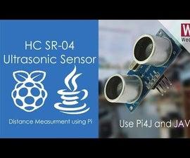 Measure Distance Using Ultrasonic Sensor | Pi4J | JAVA | Raspberry Pi