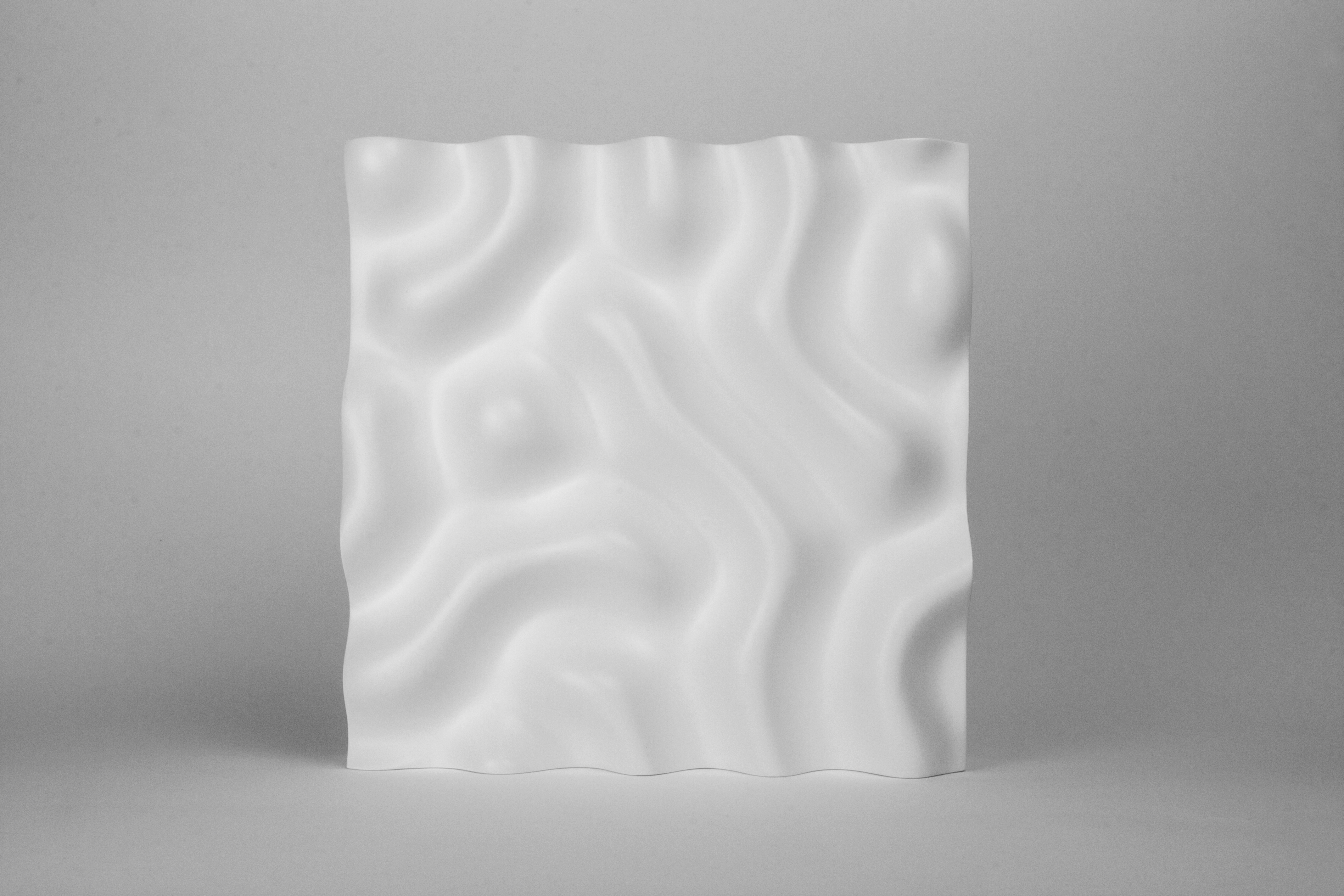 Picture of CNC Milled Reaction Diffusion Sculpture