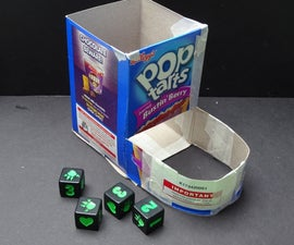 Pop Tart Box Dice Tower