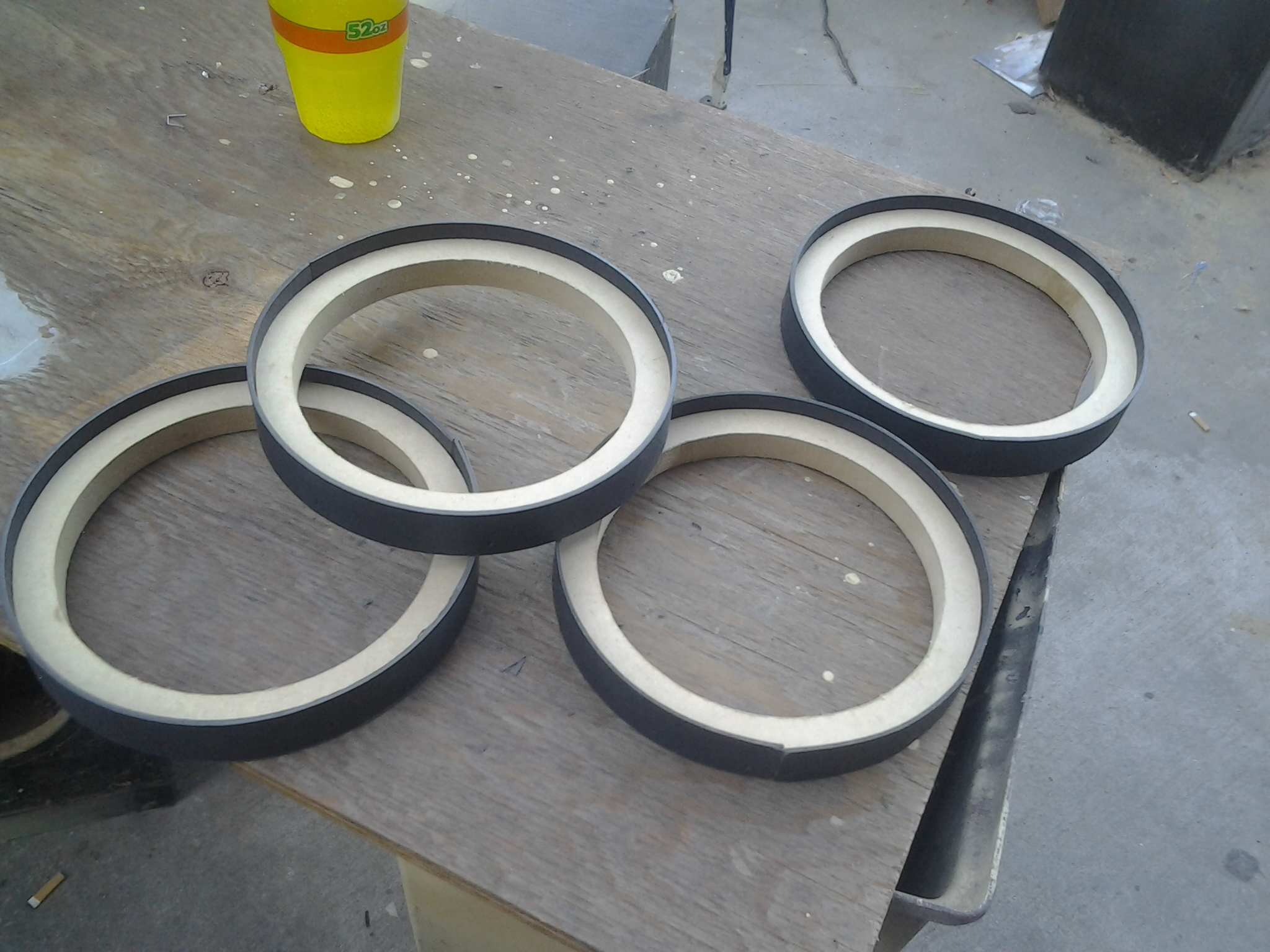 Picture of Flush Mounting the Rings
