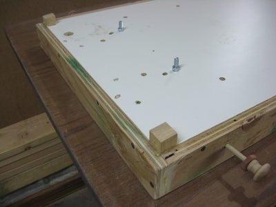 Paddle Mechanism and Mounting to Table