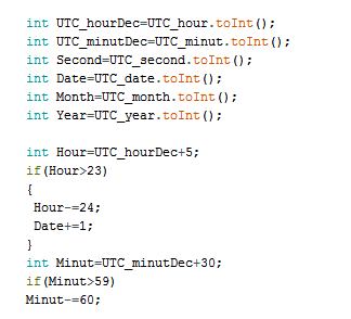 Picture of Converting Time to Decimal and Update