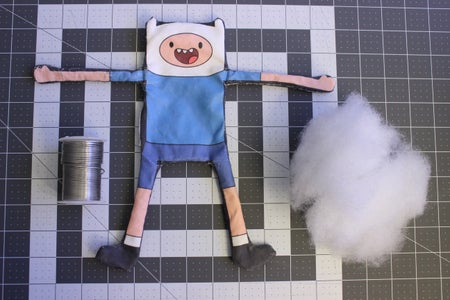 Sewing the Finn Toy