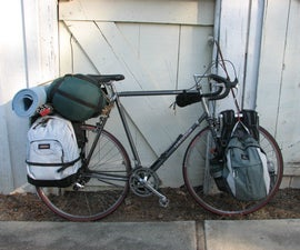 Bike rack, panniers, adventures: 4 Packs, Trailers and fun.