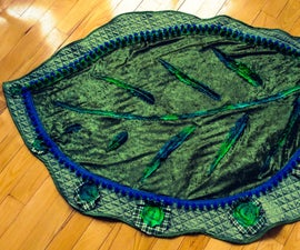 Quick and Easy Giant Leaf Baby Blanket
