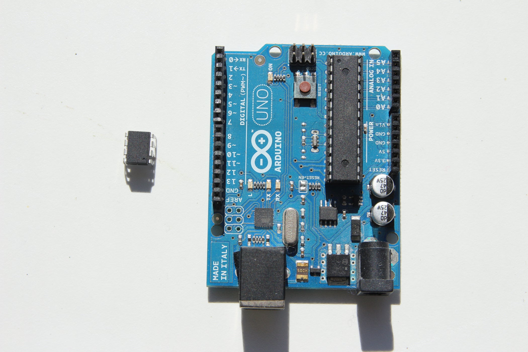 Honey I Shrunk The Arduino Moving From To Attiny And Hardware Is Implemented By Using A Avr Atmega88 Microcontroller Writing Your Code In Pure C 5 Steps