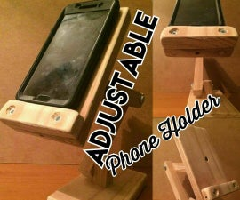 Adjusting Phone Holder