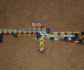 "Knex Sub-Machine Gun ""The SMG3"""