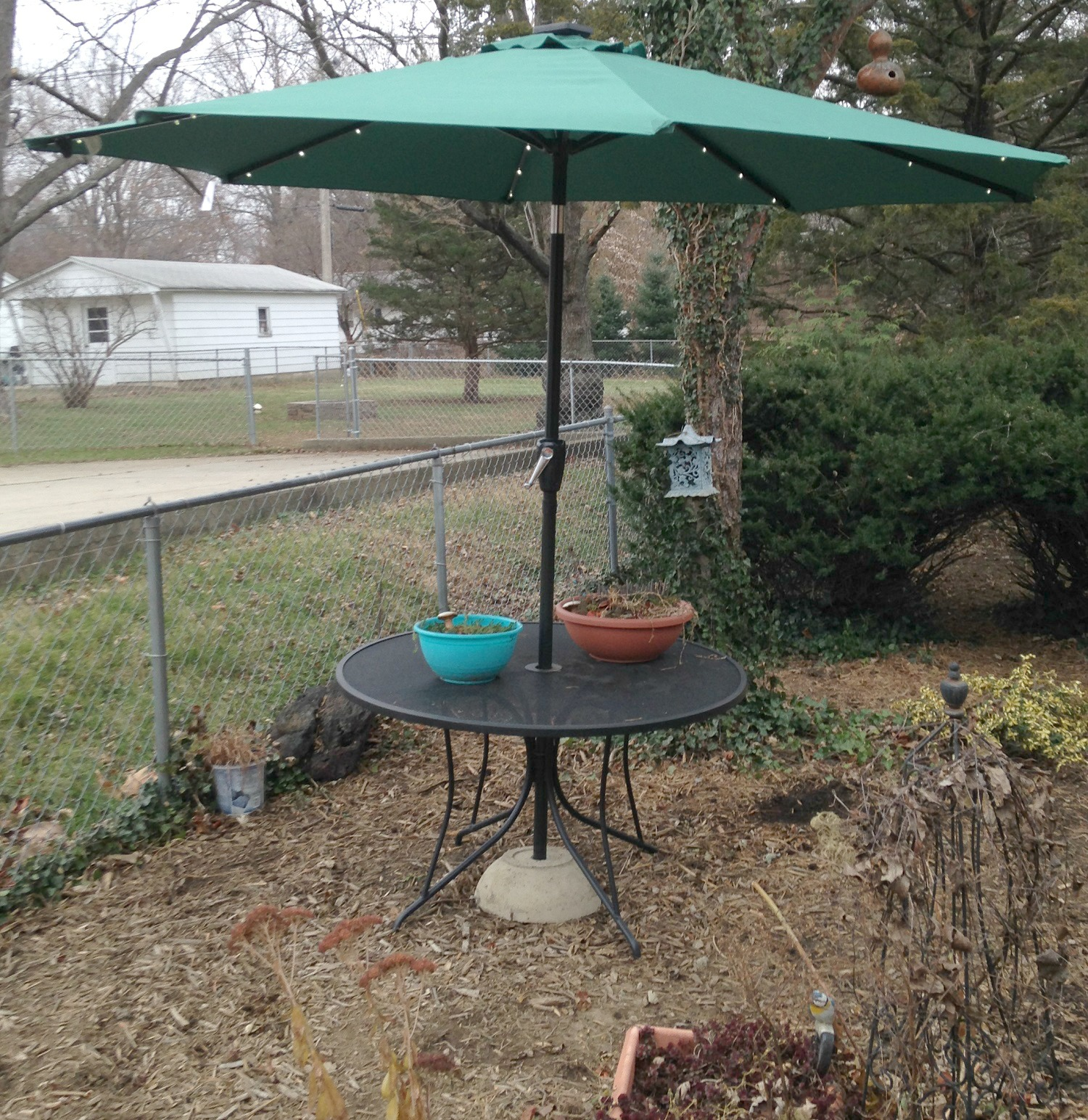 Picture of Patio Umbrella Stand (the Use What You Have Method)