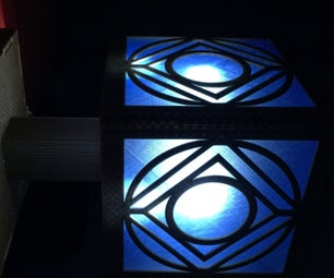 Holocron Lamp for the Discerning Jedi