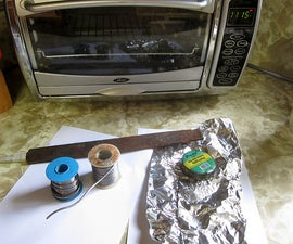How to make DIY Solder Paste for tinning PCBs at home