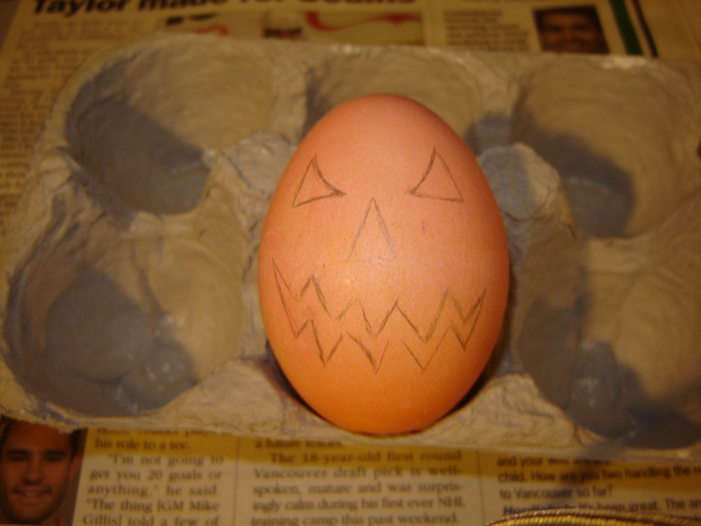Picture of Transfering the Design to Your Egg