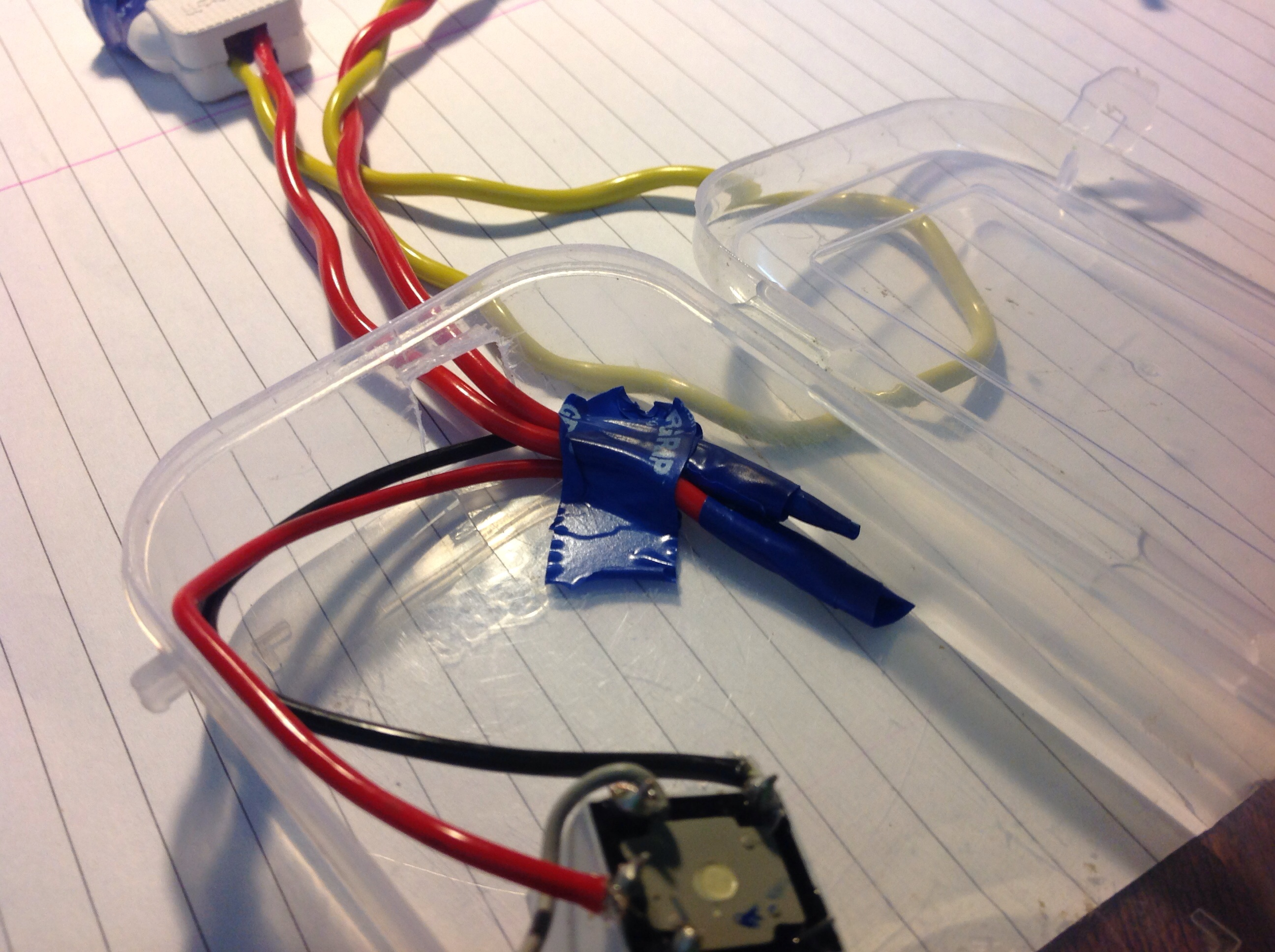 Picture of Touch Controlled Light:- Making a Box for the Relay...