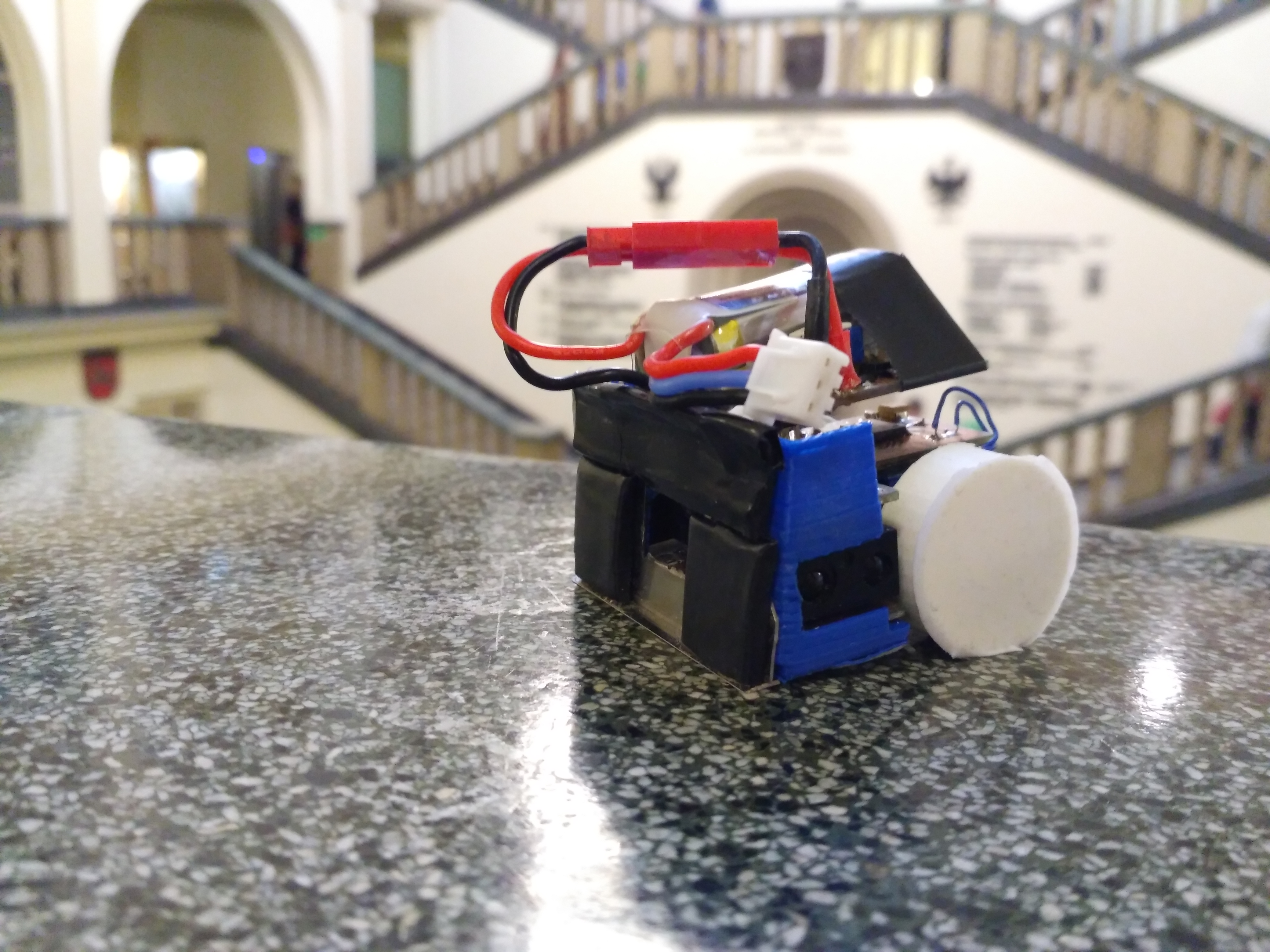 Picture of MicroSumo (100g) Competition Robot