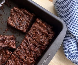 Flourless Brownies (gluten-free, paleo, vegan)