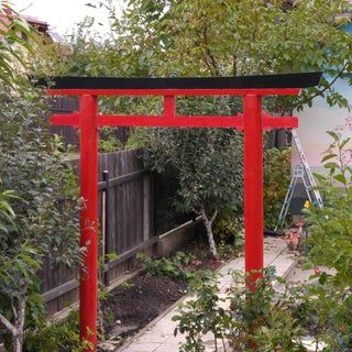 Construct a Japanese Torii Gate for Your Garden