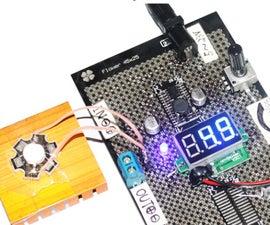 Build Adjustable DC-DC Converter on Flowerpad Protoboard