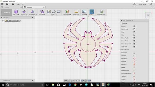 Designing the Fidget Spinner