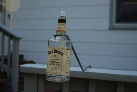 Honey Jack Tiki Torch Deck Brackets