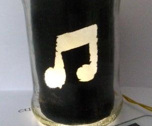 Mason Jar Audio Amplifier