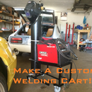 Homemade Custom Welding Cart