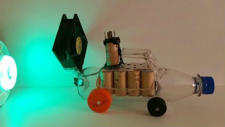 Picture of How to Make a Car From Plastic Bottles