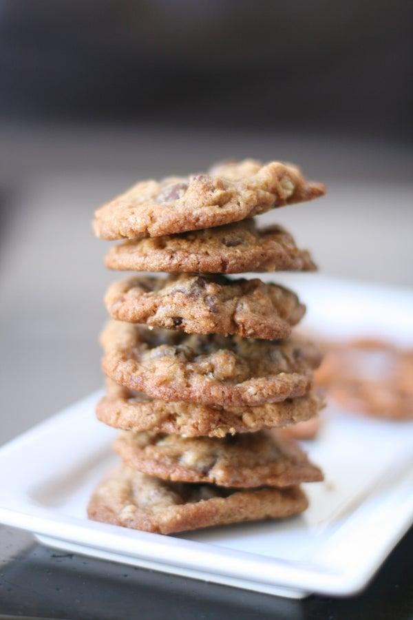 Pretzel Toffee Cookies