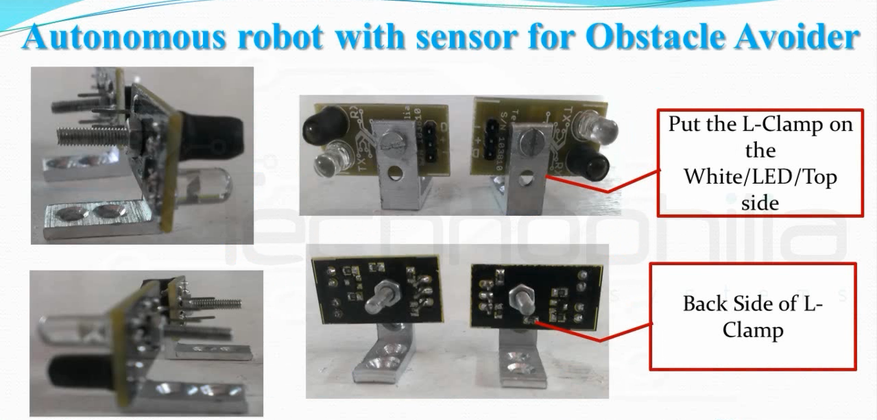 Picture of TESTING OBSTACLE AVOIDANCE SENSOR