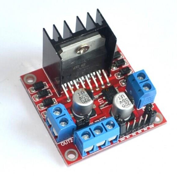 Picture of L298 DC Motor Driver Demos/Tutorial
