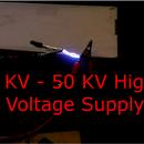 High Voltage Adjustable Power Supply