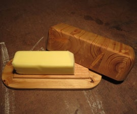 2x4 Butter Dish