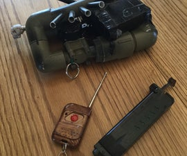 Airsoft Remote Detonation Mine/ Present Trap
