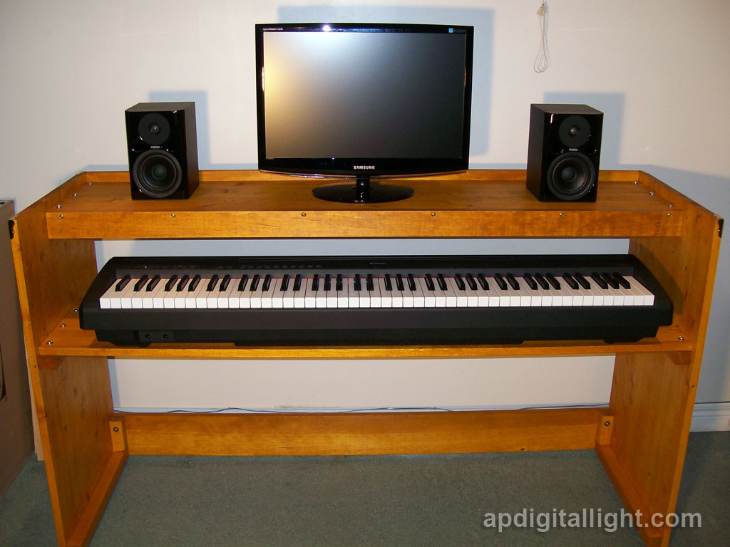 Picture of DIY Digital Piano Stand