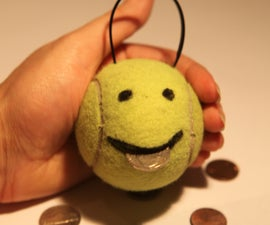 How to make a Money Muncher from an old tennis ball