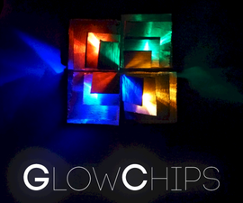 GlowChips - A Simple and Cheap LED Lamp Unit