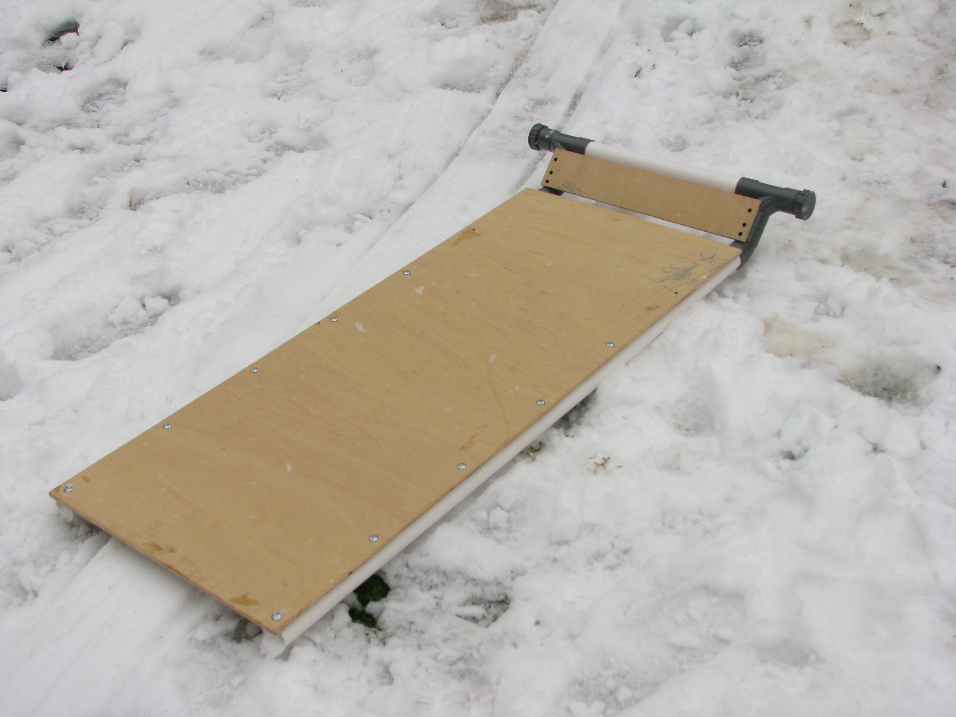 Picture of Steerable Plumbing Tube Sledge (sled)