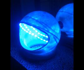LED Spacehelmet