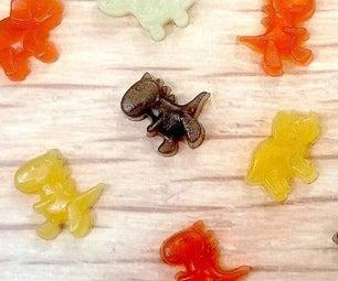CBD Gummy Dinosaurs From Whole Fruit