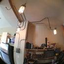 Industrial Ceiling Light