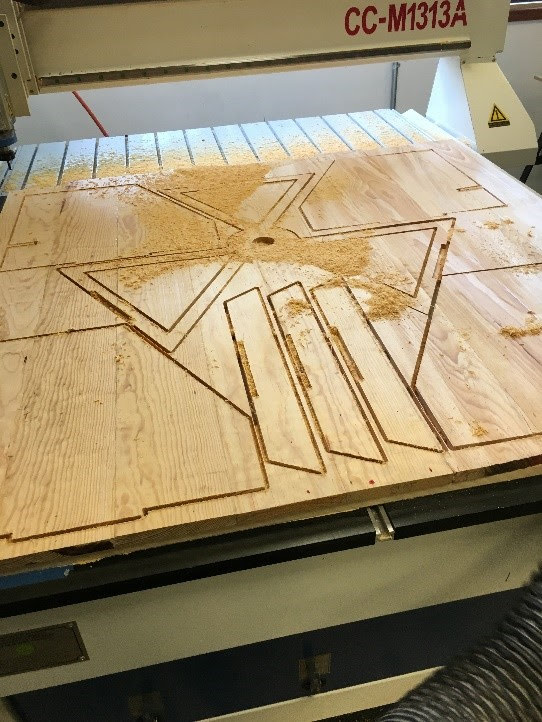 Picture of 3 AXIS CNC ROUTER