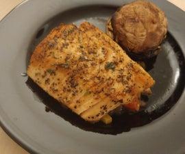 Atlantic Salmon Grill With Improvised Salsa