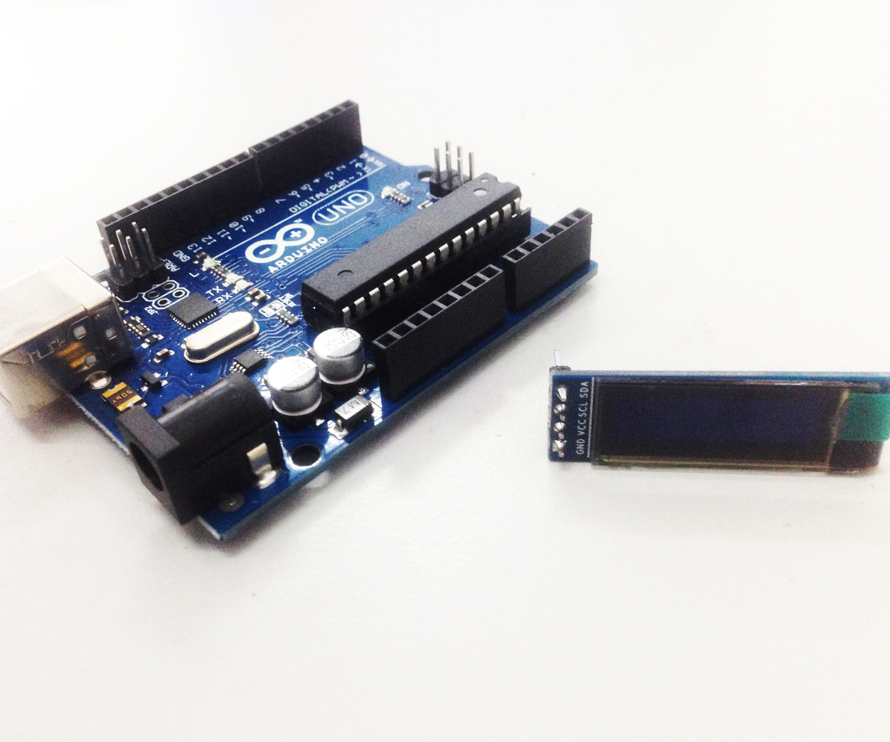 Tutorial to Interface OLED 0 91inch 128x32 With Arduino UNO: 7 Steps