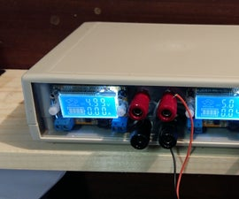 Build a dual adjustable power supply with used laptop chargers